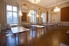 Free Empty Classroom In The Castle Stock Photo - 8016530