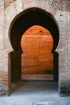 Free Moorish Doorway Royalty Free Stock Images - 8016689