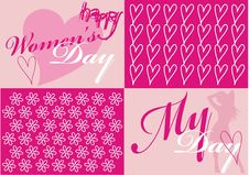 Women S Day Card Royalty Free Stock Photos