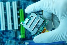 Free High Technology Chip Stock Photo - 8017580