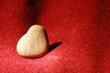 Free Heart Made Of Stone Royalty Free Stock Images - 8017619