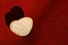 Free Heart Made Of Stone Royalty Free Stock Photo - 8017685