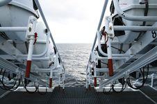 Life Raft Stock Image