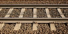 Free Railroad Tracks Royalty Free Stock Photography - 8017837