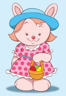 Free Easter Rabbit Stock Images - 8019534