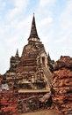 Free Pagoda Ayudhya Thailand Stock Image - 8023031
