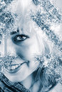 Free Winter Portrait Of A Beautiful Young Smiling Woman Royalty Free Stock Image - 8027806