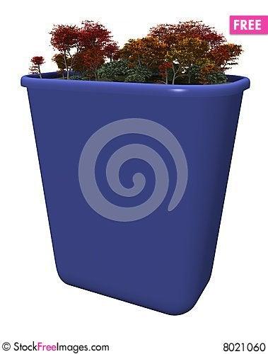 Free Recycle Bin Stock Photo - 8021060