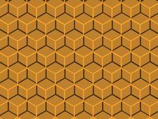 Free Orange Techno Honeycomb. Stock Photo - 8021390