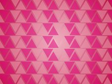 Free Pink Triangles Background. Stock Photo - 8021430