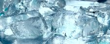 Free Blue Ice Royalty Free Stock Photos - 8022238
