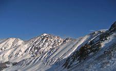 Free Mountain Peaks Royalty Free Stock Photos - 8022328