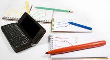 Open Palmtop Opposite Four Notebooks