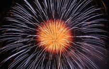 Firework Rocket Royalty Free Stock Image
