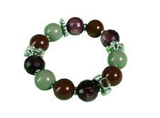 Free Black Green Bracelet Royalty Free Stock Photo - 8023605