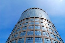 Tall Office Building Royalty Free Stock Photos
