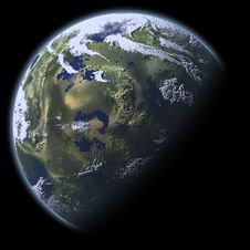Free Earth Model Stock Photography - 8023752