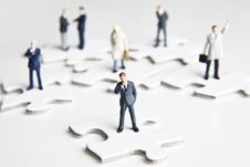Free Putting The Pieces Together Stock Photos - 8023753