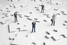 Free Putting The Pieces Together Royalty Free Stock Image - 8023766