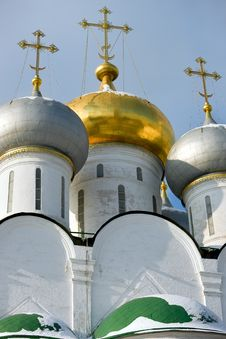 Free Detail Of Cathedral Of Our Lady Of Smolensk Royalty Free Stock Photography - 8023887