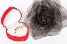 Free Ring And Rose Stock Photos - 8024023