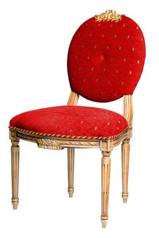 Free Clasic Chair Royalty Free Stock Photo - 8024105