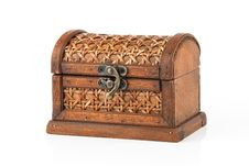 Free Wooden Chest Royalty Free Stock Photo - 8024135