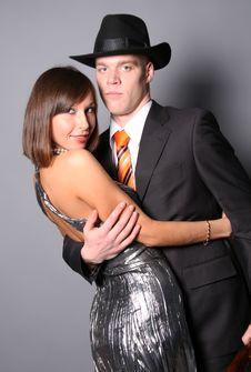 Free Hugging Couple Royalty Free Stock Photo - 8024765