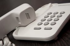Free Phone On Hold Royalty Free Stock Photos - 8025518