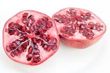 Free Halved Pomegranate Stock Images - 8026214