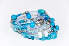 Blue Bracelet Stock Images