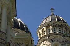 Orthodox Domes Stock Photos