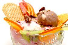 Free Creamy Ice-cream Stock Photo - 8026540