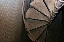 Free Down The Spiral Staircase Stock Photos - 8027393
