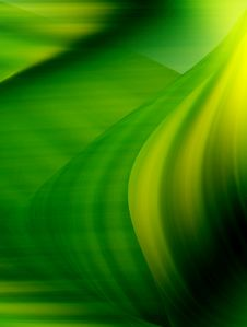 Free Green Impact Waves Royalty Free Stock Photography - 8027887