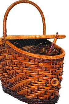 Cane Basket Stock Photography