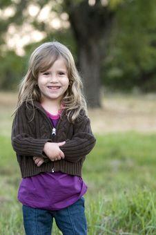 Free Innocent Happy Girl Royalty Free Stock Photos - 8028358