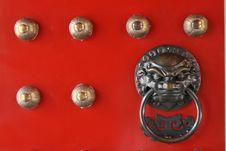 Free Chinese Door Stock Photos - 8028563