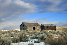 Free Abandoned Barn Royalty Free Stock Image - 8028776