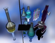 Free Scientific Devices Royalty Free Stock Photography - 8028957