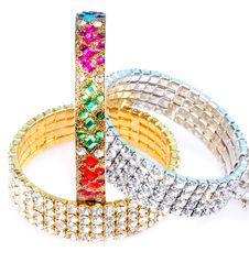 Free Diamond Bracelets Royalty Free Stock Images - 8028979