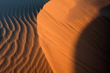 Free Desert Sand Pattern Stock Images - 8029144