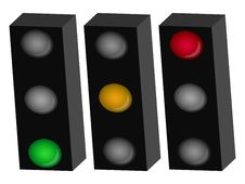 Free Traffic Light Royalty Free Stock Photography - 8029277