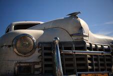 Free Old White Cuban Car Royalty Free Stock Image - 8029406
