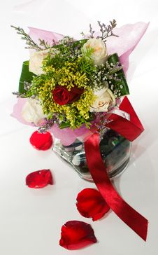 Free Valentine S Bouquet Royalty Free Stock Image - 8029636