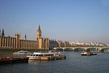 Free Houses Of Parliament, London Royalty Free Stock Image - 8029796