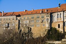 Free Castle Cesky Krumlov, Czech Republic Stock Photo - 8029800