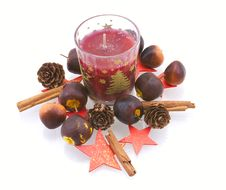 Free Candle In An Environment Stock Photos - 8029843