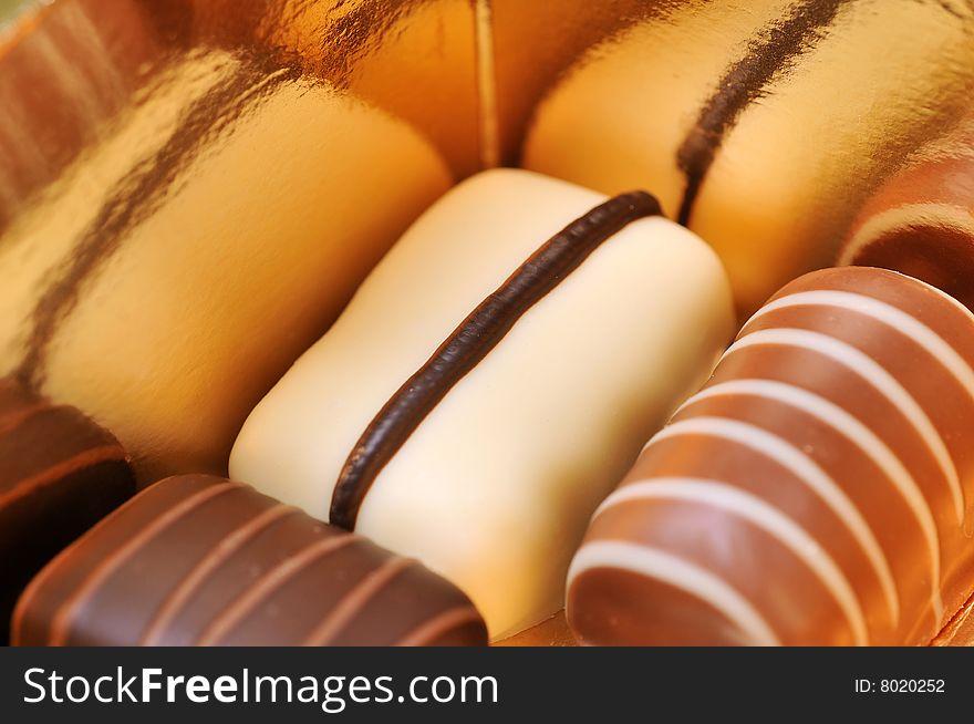 Mixed chocolates