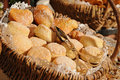 Free Basket Of Bread Stock Photos - 8032603